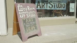 the livingroom community art studio youtube