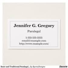 paralegal business cards minimalist and plain paralegal business card customizable
