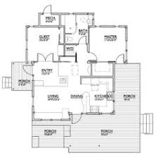 Small Floor Plans Small House Plan With Two Bedrooms Open Planning Big Windows
