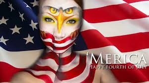 fourth of july makeup tutorial youtube