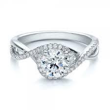 split band engagement rings contemporary halo and split shank engagement ring joseph
