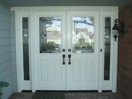double entry door with sidelights double entry doors with glass