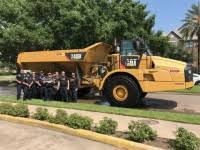 mustang cat caterpillar mustang cat donates 250 000 to cross