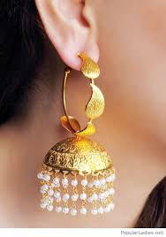 big earing wonderful golden big earring design inspire