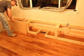 Mdf For Kitchen Cabinets Breakfast Nook Update The Bench The Wood Grain Cottage