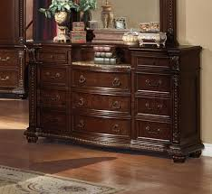 marble top dresser bedroom set dressers chests anondale marble top dresser with mirror af 10314