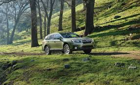 subaru outback green 2018 subaru outback in depth model review car and driver