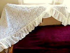 White Lace Valance Curtains Vintage White Eyelet Lace Valance Curtain By Capecodlauriedesigns