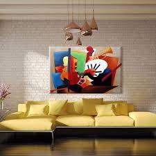 Peinture Moderne Pour Salon by Aliexpress Com Acheter Abstraite Instruments De Musique Peinture