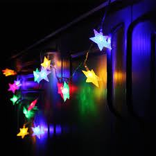 Battery Operated Christmas String Lights by Star Rgby Battery Operated Led Christmas String Lights Torchstar