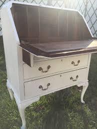 antique white secretary desk antique furniture
