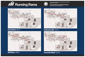 Running Map Route by Sga Running Trails