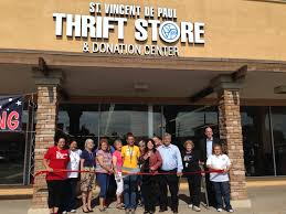 new thrift store opens in phoenix the society of st vincent de paul svdp thunderbird thrift store grand opening it was an exciting morning in central phoenix for st vincent de paul