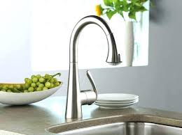 kitchen faucet brass interior stainless kohler kitchen faucets with single handle on