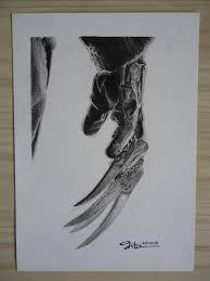 365 artwork challenge halloween series u2013 freddy krueger u0027s hand
