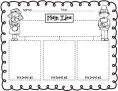 main idea worksheets kindergarten u0026