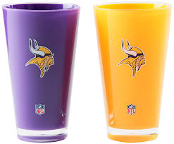 amazon com nfl minnesota vikings 20 ounce insulated tumbler 2