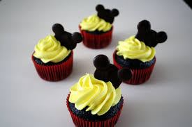 mickey mouse cupcakes mickey mouse cupcakes peace and fries