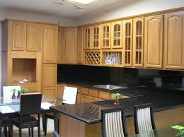 mesmerizing black themed modern kitchen completed with best the