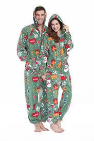 xmascoming s s hooded fleece onesies gift one