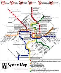 Metro Rail Dc Map by Subway Map Washington Dc Pdf My Blog Washington Dc Map National