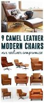 Camel Leather Chair The 1142 Best Images About Leather Ottomans And Cocktail Ottomans