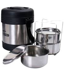 milton legend 3 container tiffin steel plain 240 ml buy online