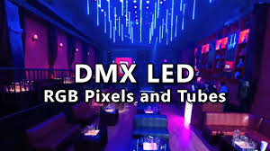 dmx led strip lights dmx tube 3 3ft 5050 rgb 64pc led 16 pixels 48 dmx ch