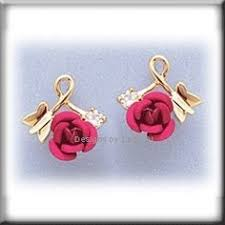 simply whispers earrings simply whispers jewelry pierced earrings gold posted flower small