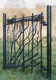 sculpture and garden artistic metal furniture and gates