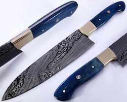 custom kitchen knives for sale genuine damascus steel chef knives for sale smith studio