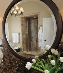 large tile bathroom mirror framed mirrors wall also wall mounted