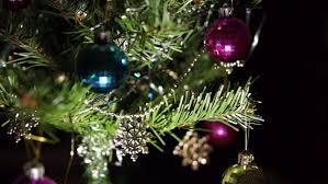 tree twinkle lights hd stock footage 5089214