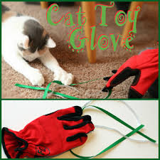 kids crafts cat glove toy two kids cooking and more