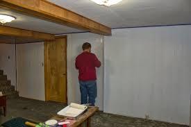 painting paneling in basement snapshots of a kansas farm transformation tuesday basement wall