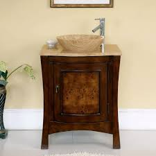 Small Bathroom Vanities And Sinks by Amazon Com Silkroad Exclusive Travertine Top Modern Sink Vessel