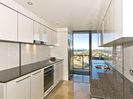 modern galley kitchen home design interior and exterior spirit