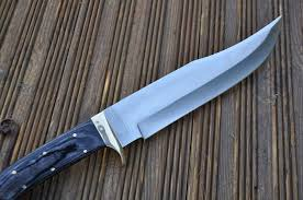 Handcrafted Kitchen Knives Amazon Com Custom Handmade Hunting Knife Bowie Knife Ball