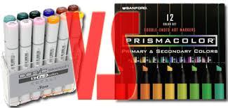 prismacolor markers prismacolor vs copic by hydestock on deviantart