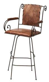 Wood And Metal Bar Stool Stools Mexican Leather Iron Bar Stools Metal Wood And Leather