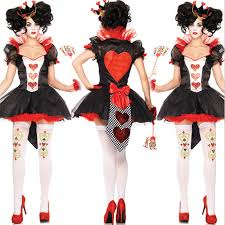 Queen Hearts Halloween Costume Women Compare Prices Casino Dress Women Shopping Buy