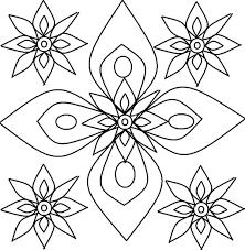 rangoli designs coloring pages funycoloring