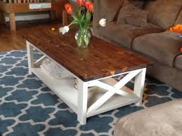 Diy Coffee Tables How To Build A Diy Coffee Table Chunky Farmhouse Woodworking
