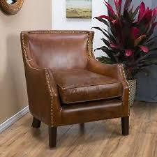 old leather armchairs vintage leather chair ebay