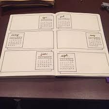 Journal Design Ideas Bullet Journal Future Log Idea U2026 Pinteres U2026