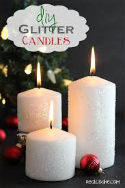 home decor with candles how to make a glitter candle diy home decor tip junkie