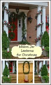 craft a christmas lantern from a mason jar