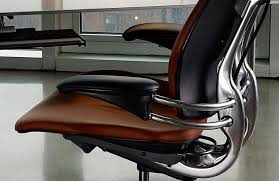 Humanscale Office Chair Office Chair With High Backrest On Casters With Armrests