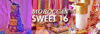 sweet 16 theme alyce prom sweet 16 party theme moroccan alyce prom