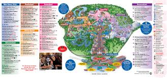 Universal Orlando Park Map by Park Maps 2011 Photo 1 Of 4